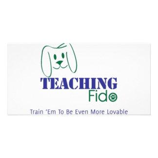 Teaching Fido Logo Wear Photo Card