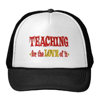 Teaching for Love Mesh Hats