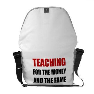 Teaching For Money Fame Commuter Bags