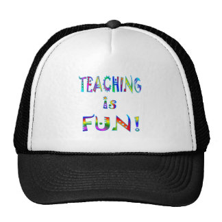 Teaching is Fun Cap
