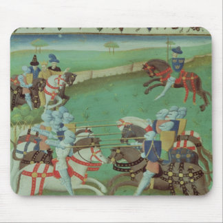 Teaching Knights to Joust Mouse Pad