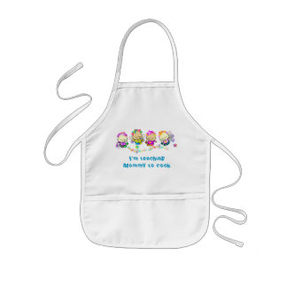 Teaching Mommy to Cook Kids Apron
