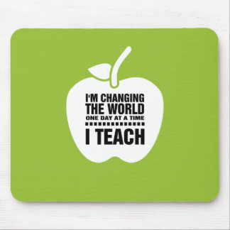 Teaching Quote | Apple design Gift Mousepads