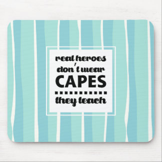 Teaching Quote | Typography design Gift Mousepads