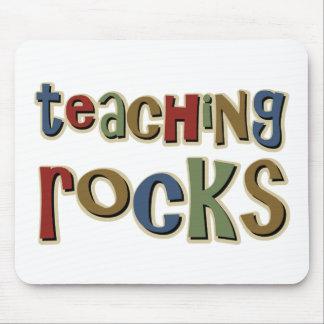 Teaching Rocks Mouse Mat