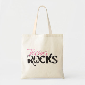 Teaching Rocks Tote Bag