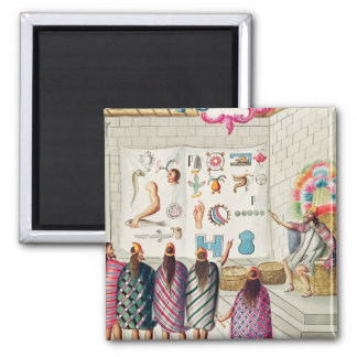 Teaching the Reading of Manuscripts Square Magnet