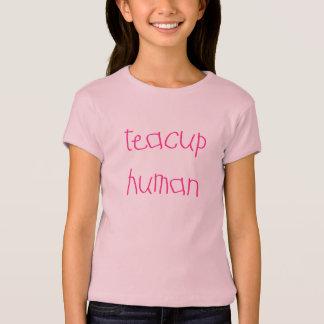 Teacup Human (pink) T-Shirt