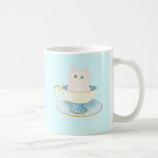 Teacup Kitten Coffee Mug