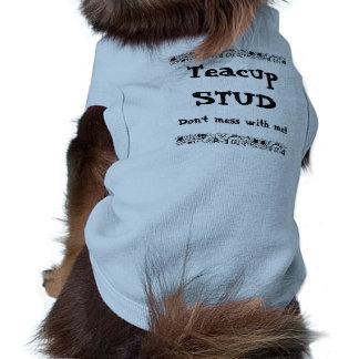 Teacup Stud Sleeveless Dog Shirt