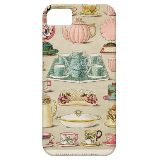 Teacup Teapot and China Vintage Art Cell Phone iPhone 5 Cases