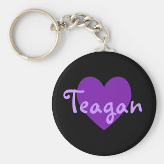 Teagan in Purple Key Ring