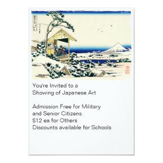 Teahouse on Koishikawa 13 Cm X 18 Cm Invitation Card