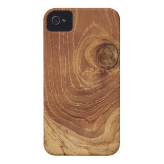 Teak Rustic Wood Photo BlackBerry CaseMate iPhone 4 Cover