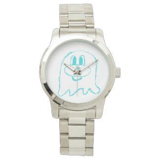 Teal 鬼 鬼 Stainless Steel Wristwatch (Women)