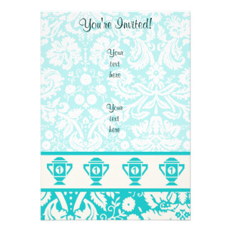 Teal 1st Place Trophy Cards