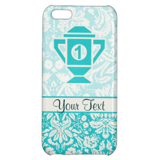 Teal 1st Place Trophy iPhone 5C Cover