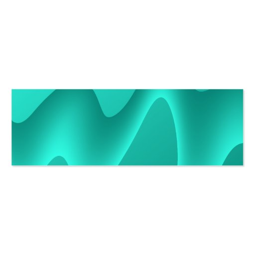 Teal Abstract Design Image. Business Card Templates