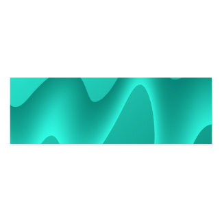 Teal Abstract Design Image Business Card Templates