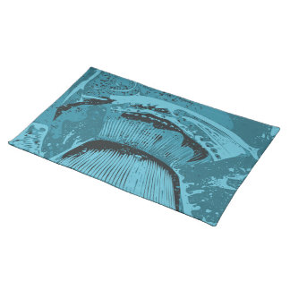 Teal Abstract. Place Mats