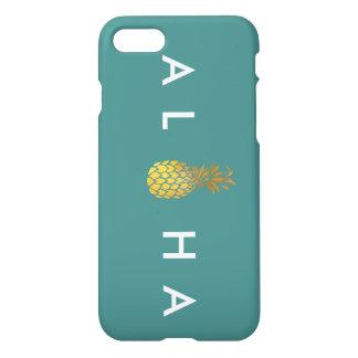 Teal Aloha IPhone 7 Case