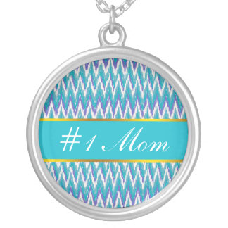 Teal and Amethyst iKat ZigZag pattern Jewelry
