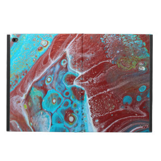 Teal and Copper Acrylic Abstract Powis iPad Air 2 Case