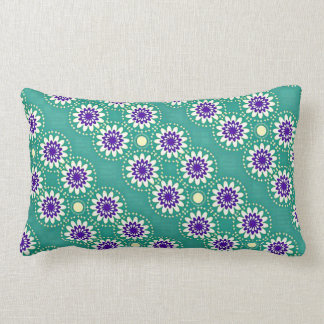 Teal Appeal Lumbar Cushion