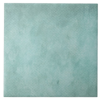 Teal Aqua Blue Watercolor Paper Colorful Texture Tile