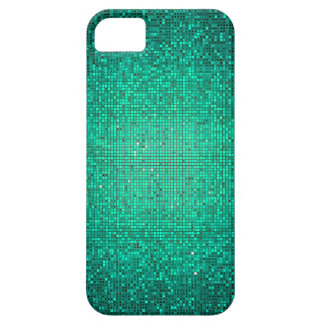 Teal Aqua Glitter Sequin Mate ID™ iPhone 5 Case