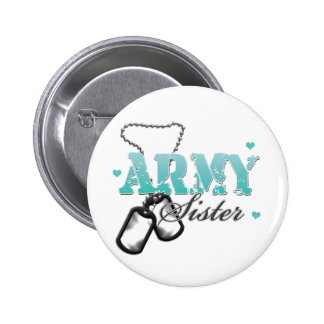 Teal Army Sister Buttons