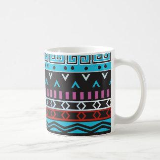 Teal Aztec Coffee Mug