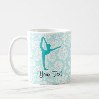 Teal Ballet Basic White Mug