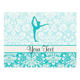 Teal Ballet Postcards