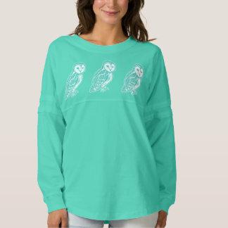 Teal Barn Owls Women's Spirit Jersey Shirt