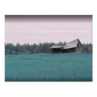 Teal Barn Postcard