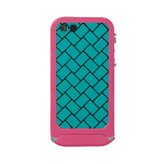 Teal Basket Weave 2 Incipio ATLAS ID™ iPhone 5 Case