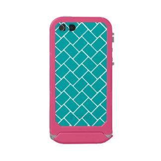 Teal Basket Weave Incipio ATLAS ID™ iPhone 5 Case