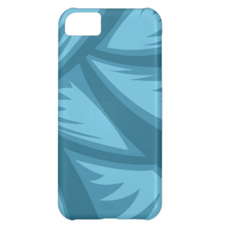 Teal Blue Jungle Abstract iPhone 5 Barely There iPhone 5C Case