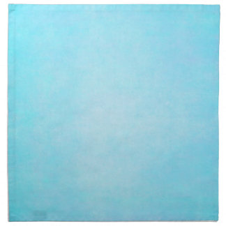 Teal Blue Light Watercolor Template Blank Napkin