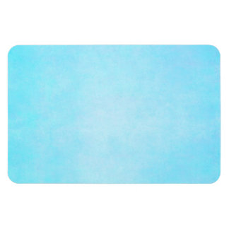 Teal Blue Light Watercolor Template Blank Rectangular Photo Magnet