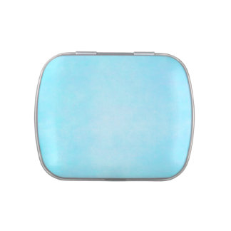 Teal Blue Light Watercolor Template Jelly Belly Tin