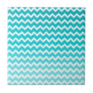Blue ombre chevron pattern - photo#6