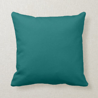 teal blue  pillow