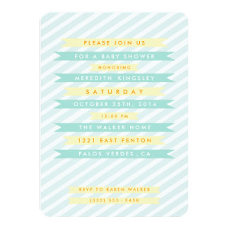 Browse Zazzle's Striped Baby Shower Invitations Collection and personalise by colour, design, or style.