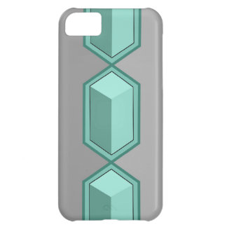 Teal Boxes iPhone 5 Barely There Case