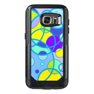 Teal Bubble Otterbox Case Samsung - All styles