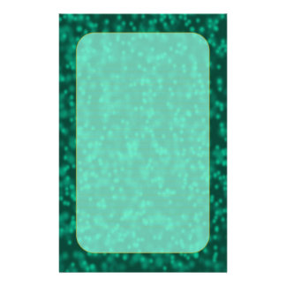 """Teal Bubbles"" Fine Lined Stationery"