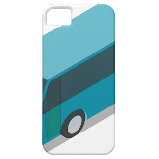 Teal Bus Case For The iPhone 5