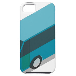 Teal Bus iPhone 5 Cover